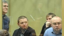 Николай Цапок, Вячеслав Цеповяз, Владимир Алексеев и Владимир Запорожец (слева направо)