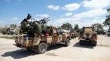 Члени «Лівійської національної армії» Халіфи Хафтара в місті Бенгазі, Лівія, 7 квітня 2019 року