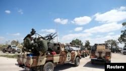 Бойцы Ливийской национальной армии. Архивное фото