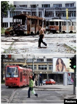 PHOTO GALLERY: Sarajevo Then And Now