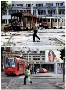 PHOTO GALLERY: Sarajevo Then And Now