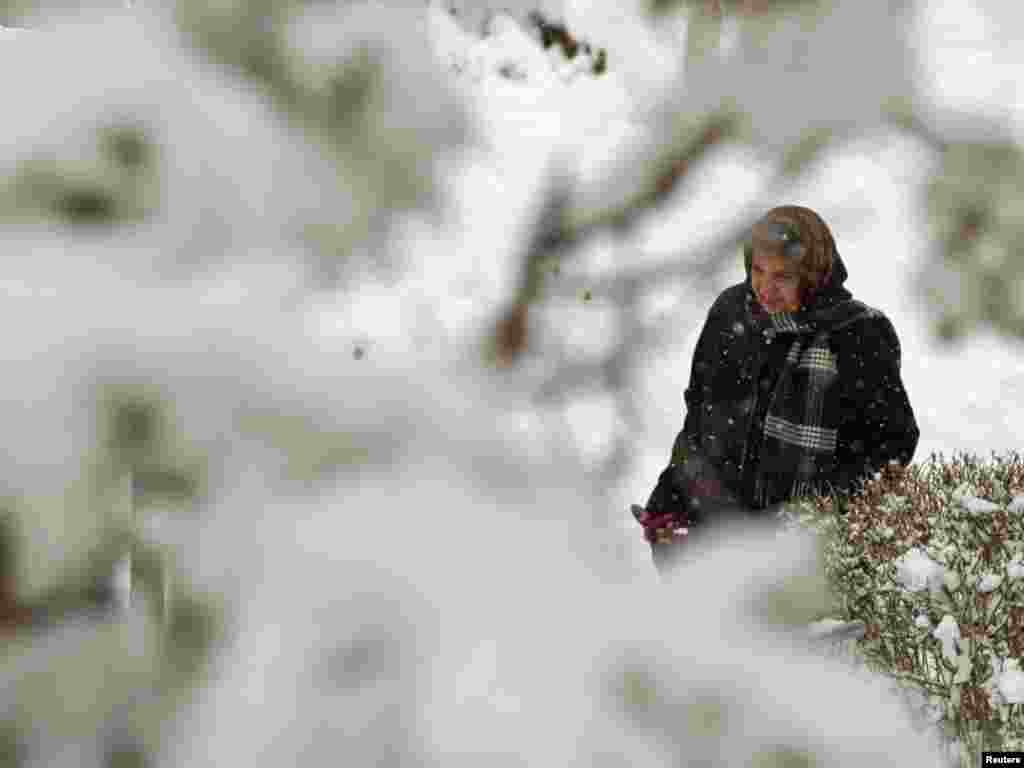 Iran - Snježno nevrijeme u Teheranu,16.01.2011. Foto: Reuters / Caren Firouz