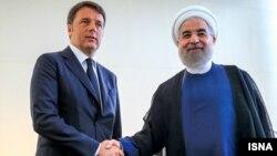 دیدار رئیس جمهور ایران با نخست وزیر ایتالیا در نیویورک
