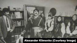Новогоднее колядование киевских студентов в советские времена