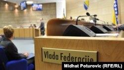 Sala Parlamenta Federacije BiH, foto: Midhat Poturović