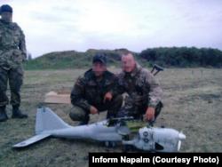 «Орлан-10», сбитый 18 июля 2014 десантниками 79-й бригады ВС Украины