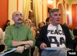 Андрей Бильжо и поэт Орлуша