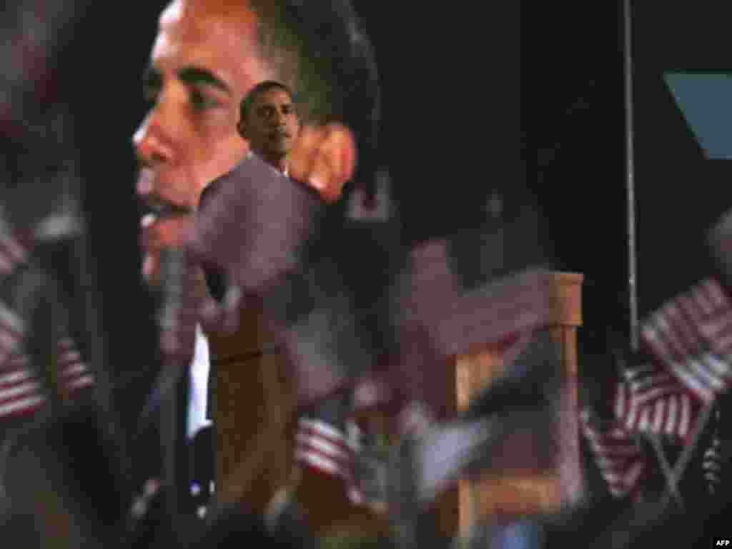 Барак Обама виступив з промовою перемоги в Чикаго