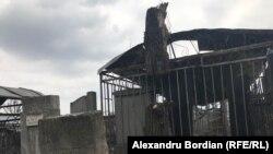 Cimitirul evreiesc din Chișinău după defrișarea copacilor