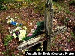 Одна из могил Локчимлага