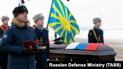 Ceremonia e varrimit të pilotit rus, Roman Fillipov në Rusi
