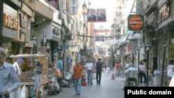 Լիբանան - Տեսարան մայրաքաղաք Բեյրութի հայաշատ Բուրջ Համուդ թաղամասից, արխիվ