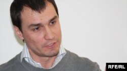 Александр Габченко в бытность главным продюсером портала Stan.kz. Алматы, 22 января 2010 года.