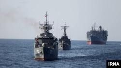 Иранские военные корабли. Иллюстративное фото.