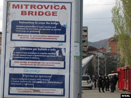 Most u Mitrovici deli ovaj grad na albanski i srpski deo, Foto: Ricki Green