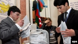 Azerbaijani officials say 90 percent of voters approved the constitutional amendments.