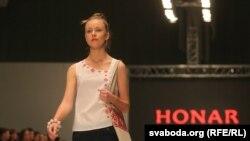 Беларускае адзеньне Honar на Belarussian Fashion Week, 2014 год
