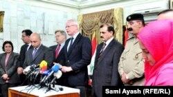 المؤتمر الصحفي لمساعد وزيرة الخارجية الاميركية