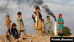 AFGHANISTAN -- Afghan children lack access to vital support services according to a new report. (file photo)