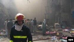 در بمبگذاری های انتحاری روز شنبه در عراقده ها تن کشته شدند