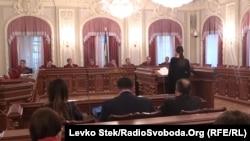 Засідання Верховного суду України, 12 квітня 2016 року