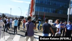 Protest podmladka opozicije u Banjaluci