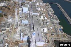 Фукусімська АЕС після аварії. Березень 2011 року