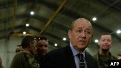 Министр обороны Франции Жан-Ив Ле Дриан.
