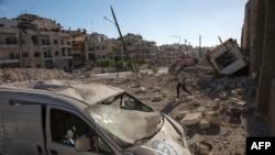 La Alep, 23 septembrie