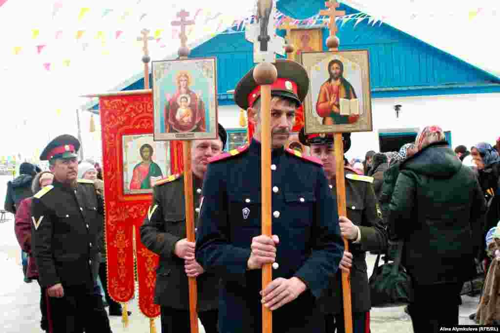 Подготовка к крестному походу.