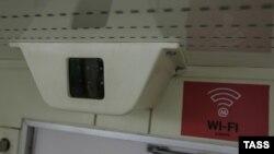 Точка доступа Wi-Fi в московском метро