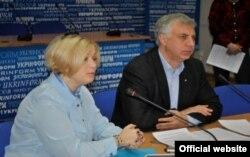 Ірина Геращенко та Сергій Квіт (фото з офіційного сайту Міністерства освіти і науки)