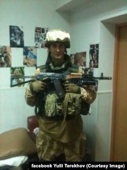 Юлій Терехов на фронті. 2014 рік