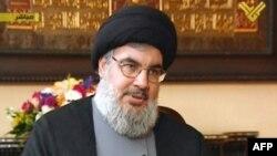 """""""Хезболла"""" ұйымының жетекшісі Хасан Насралла."""
