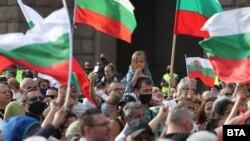 Протестът в София на 12 юли 2020 г.
