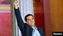 Алексис Ципрас, лидерот на грчката крајно левичарска партија Сириза