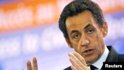 Николас Саркозӣ, раиси ҷумҳури Фаронса
