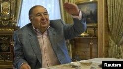 Российский миллиардер Алишев Усманов. Москва, 24 сентября 2012 года.
