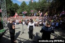 Skup podrške Svetlani Tihanovskajoj u Brestu