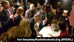 Презентація книги Енн Епплбаум «Червоний голод» у Варшаві