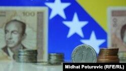 Evropske zemlje i dalje su najznačajniji investitori u BiH (na fotografiji: konvertibilna marka, KM)