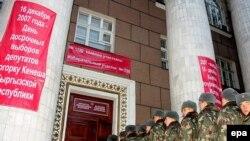 Партия киргизского президента добилась даже более убедительного результата, чем «Единая Россия»