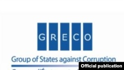 Official logo of the Group of States Against Corrluption (GRECO).
