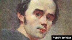 Автопортрет Шевченка 1840–1841 рр., написаний у той період, коли поет створював «Гайдамаки» (зберігається в Національному музеї Тараса Шевченка)