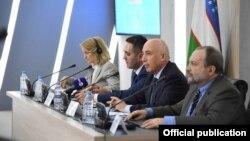 Конференция по профилактике коронавирусной инфекции в Минздраве Узбекистана. Ташкент, 10 марта 2020 года.