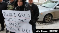 Protestul PAS la sediul ANRE