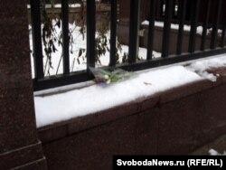 У псольства Чехии в Москве, 19 декабря 2011