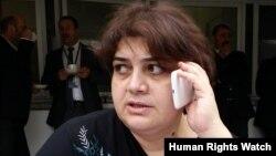 Әзербайжан журналисі Хадиджа Исмаилова.