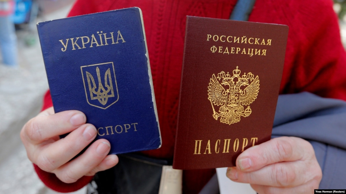 Картинки по запросу Российские паспорта в ОРДЛО