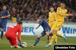 Футбольний матч Україна-Франція, Київ, 15 листопада 2013 року